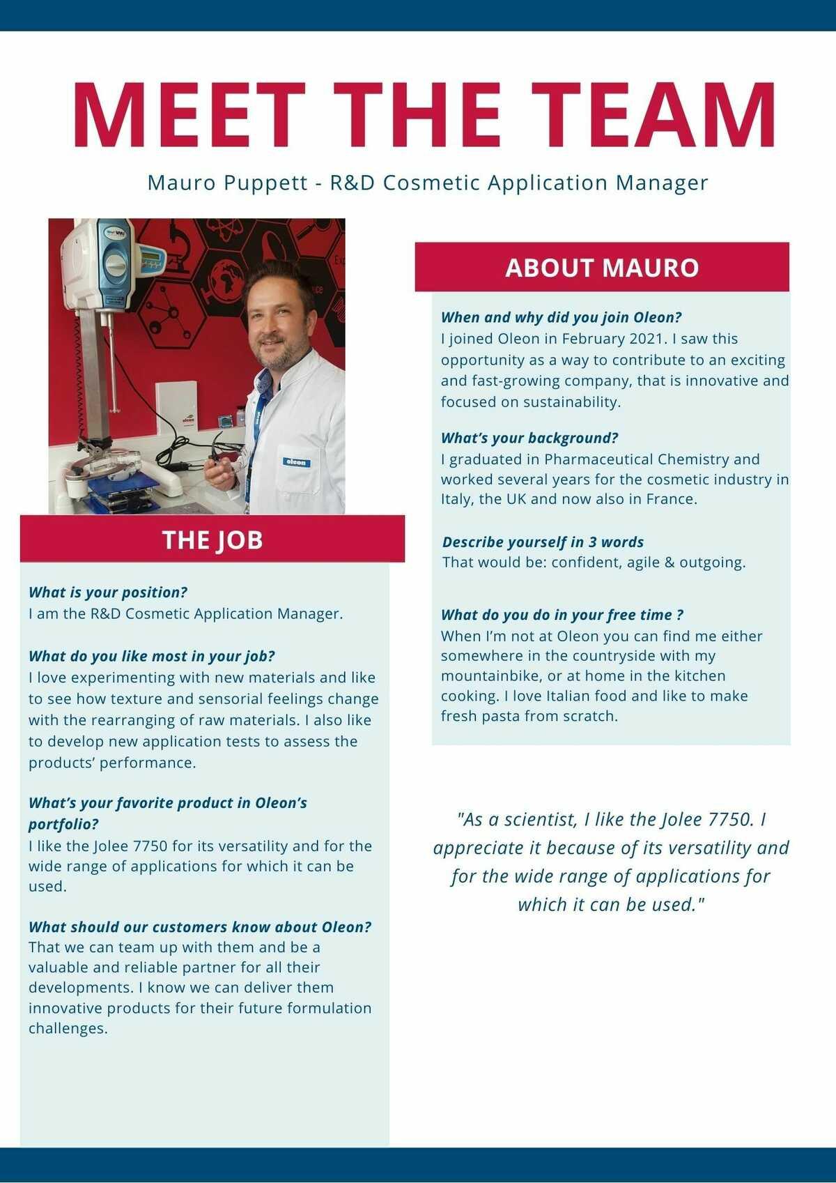 Meet Mauro